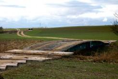 Bau behelfsmaessiger Wegeinfrastruktur