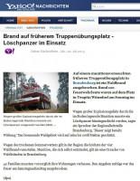 Brand-auf-frueherem-Truppenuebungsplatz-Loeschpanzer-im-einsatz - Yahoo Nachrichten