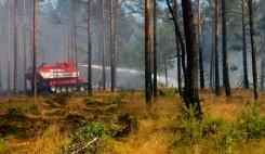 Brandbekaempfung mit Loeschpanzer