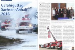Gefahrguttag Sachsen-Anhalt 2016